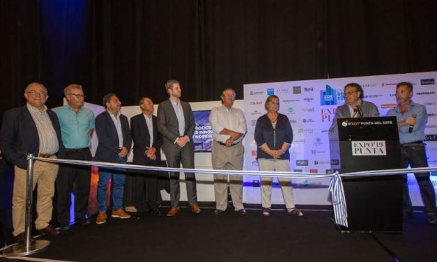 Eric Trump arribó a Enjoy Punta del Este para la apertura de la EXPO Real Estate 2019