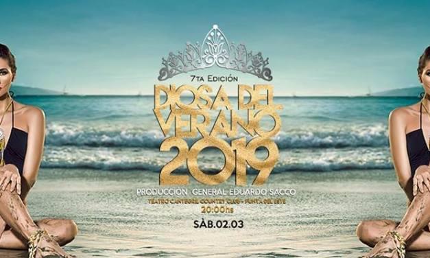 36 chicas de todo el país disputarán la corona de Diosa del Verano 2019