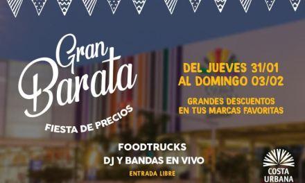 Costa Urbana Shopping organiza la Gran Barata con música y foodtrucks