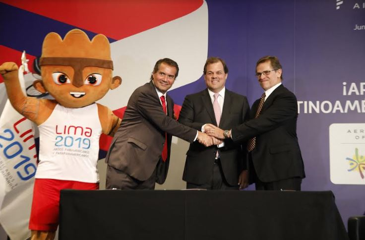 LATAM es la Aerolínea Oficial de Los Juegos Panamericanos Lima 2019