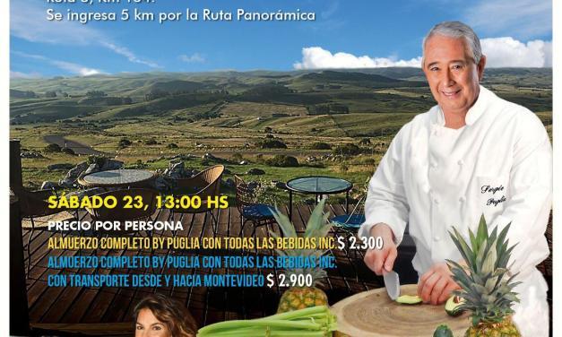 Sergio Puglia cocinará en VIVO este sábado en Estación Penitente