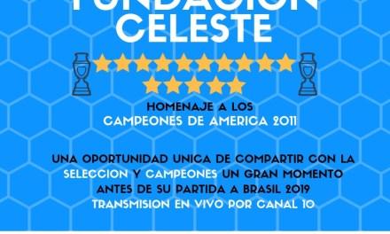 Fundación Celeste rinde homenaje a la selección campeona de la Copa América 2011