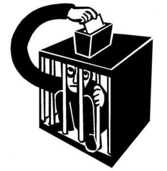 vote-cage