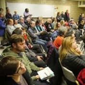 Network 49 meetings attract neighbors seeking to get informed and be involved.