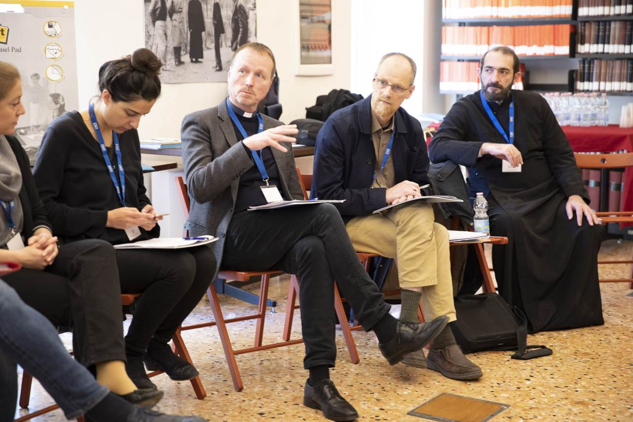 Network member Carl Dahlbäck sharing experiences from his project God's House, Bologna, Italy - March 2019