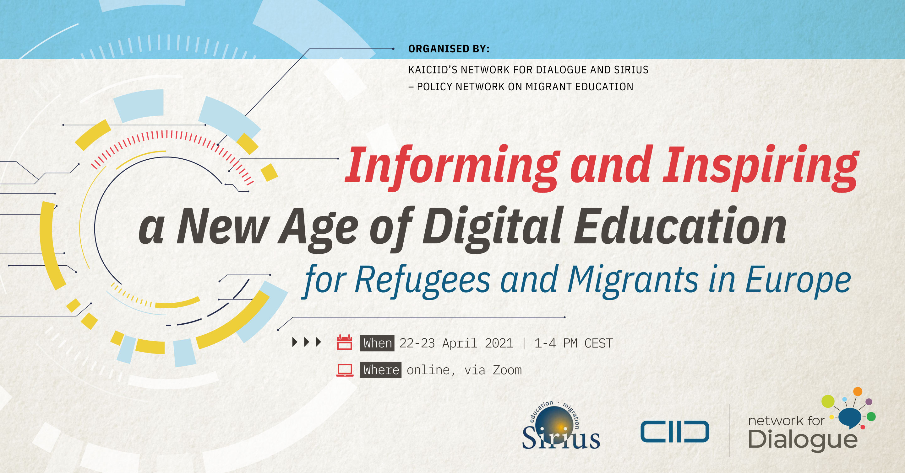 AIDING REFUGEES AND MIGRANTS THROUGH ACCESS TO E-LEARNING