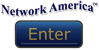 Network America Enter Button Blue