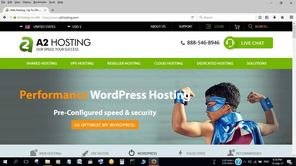 Is A2 the best wordpress hosting company in the world?