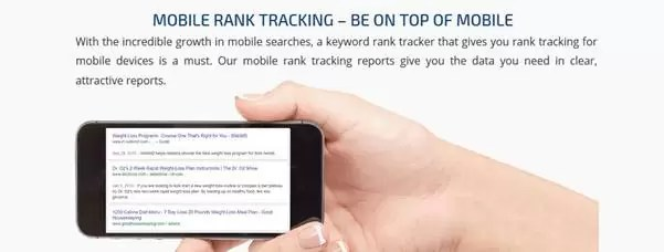Mobile Rank Tracking by Rank Ranger