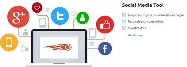 SEMrush Social Media Tool: SEO tools