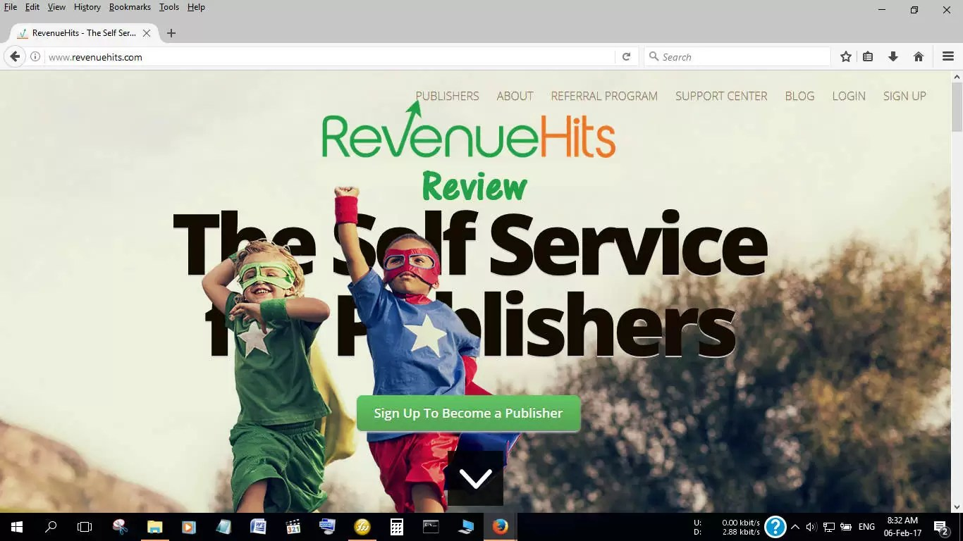 Revenue Hits best AdSense Alternative