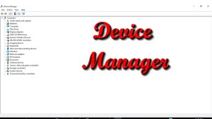 How to Open Device Manager