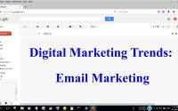 Email Marketing, Digital Marketing trends