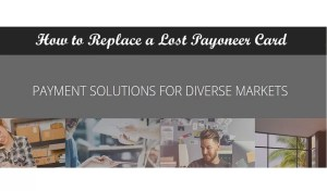 How to replace a lost payoneer card