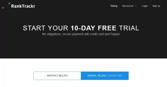 RankTrackr Free 10 Day Trial
