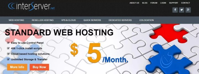 InterServer is the only company where advertised web hosting costs are real