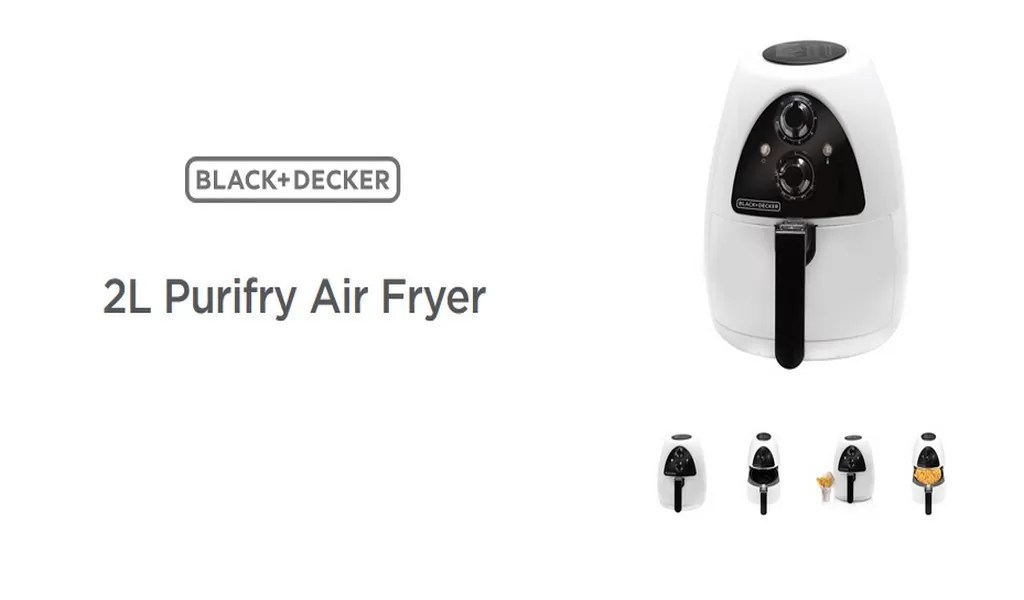 The Black and Decker AirFryer review