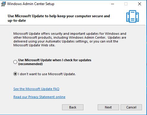 Windows Admin Center - NetworkCorp