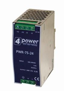 immagine del 4N-PWR-75-24 Alimentatore industriale 4Power 24 VDC 75W