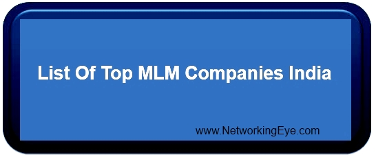 list of top mlm companies in india