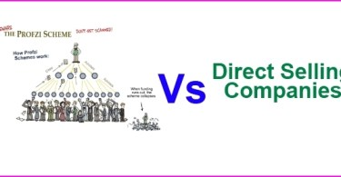 Ponzi Schemes Vs direct selling companies