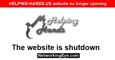 HELPING-HANDS.US website no longer opening