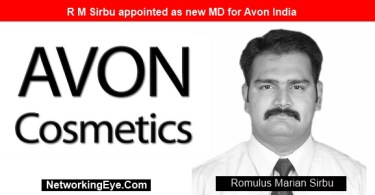 R M Sirbu appointed as new MD for Avon India
