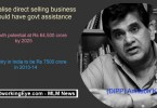 Legalise direct selling business in India
