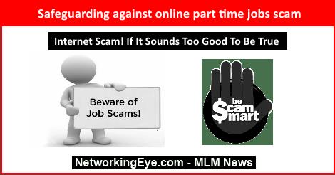 Safeguarding against online part time jobs scam