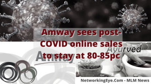 Amway sees post-COVID online sales to stay at 80-85pc