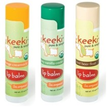 Keeki Pure & Simple Lip Balms