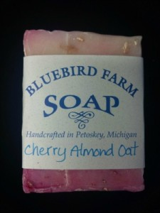 Locally-Made-Cherry-Almond-Oatmeal-Soap1-225x300