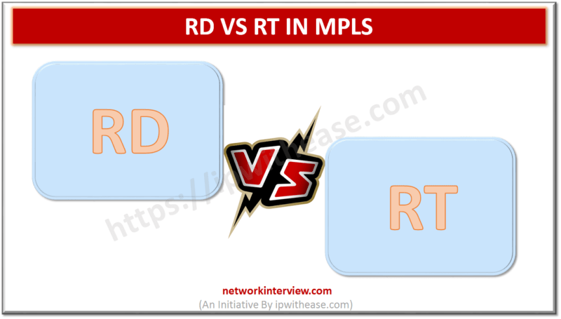 RD vs RT in MPLS