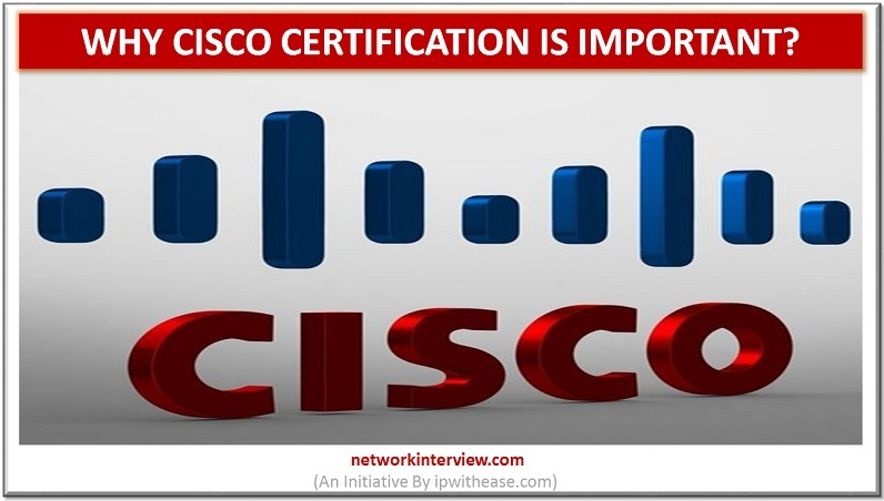Why Cisco certification