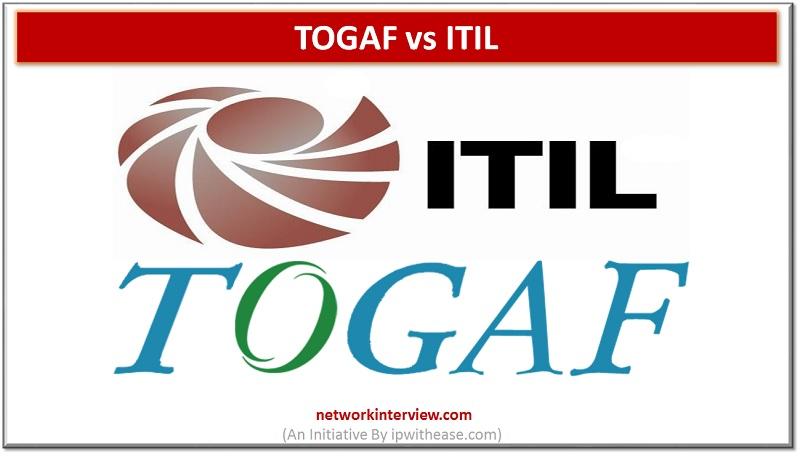 TOGAF and ITIL