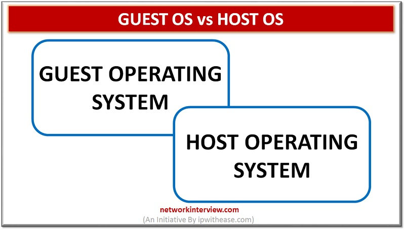 Guest OS vs Host OS