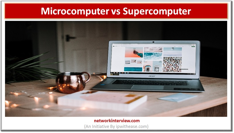 microcomputer vs supercomputer dp