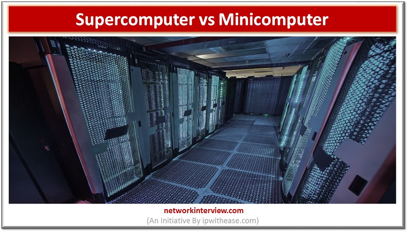 supercomputer vs minicomputer dp