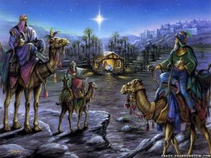The Wise Men Find Him