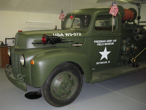 Freeman Army Airfield Museum, Army Truck | H-Midwest | H-Net
