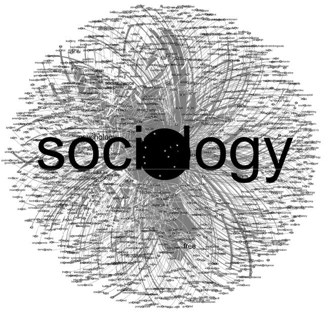 sociología Twitter redes