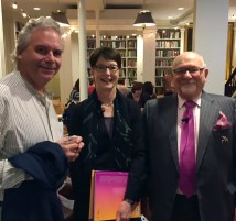 Timothy Philbrick, Jan Howard, & Dr. Joseph A. Chazan