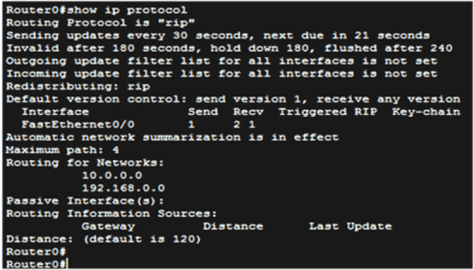 Routing Information Protocol (RIP) 4