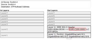 802.1D Bridge Protocol Data Unit (BPDU) Frame Format 3