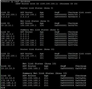 How to Verify Multiarea OSPF 6
