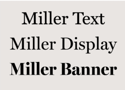 Text Fonts And Display Fonts