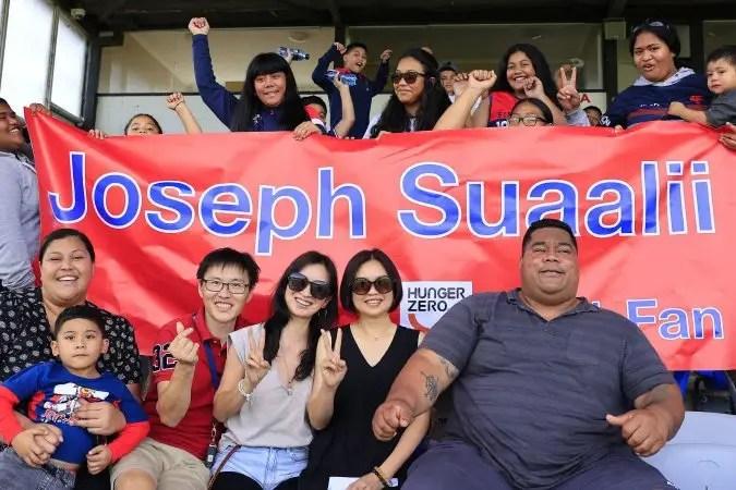 joseph suaalii family