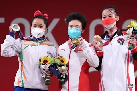 Hou Zhihui Olympics Winning Moment