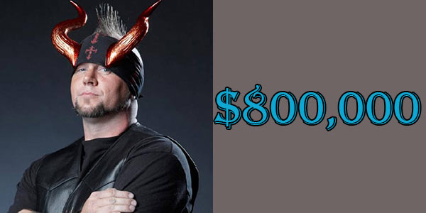 Horny Mike's Net Worth is $800 Thousand American Dollar