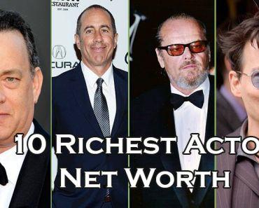 Tom Hanks, Jack Nicholson, Jerry Seinfeld,Johnny Depp,